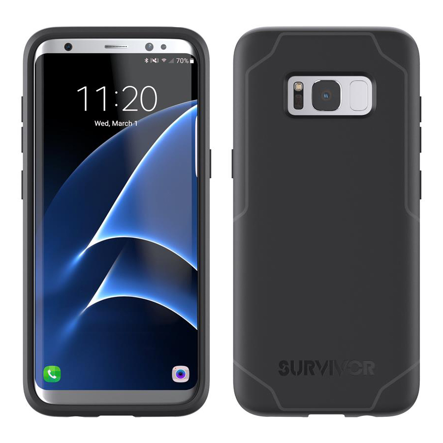 huge discount aa996 55c79 Details about GRIFFIN Survivor Strong ultra slim heavy duty protection case  Samsung Galaxy S8+