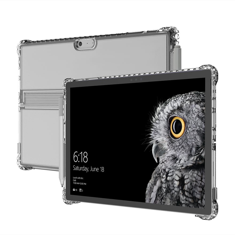 size 40 118e3 4cec5 Details about INCIPIO Octane Pure Transparent Co-Moulded Folio for Surface  Pro (2017), Clear
