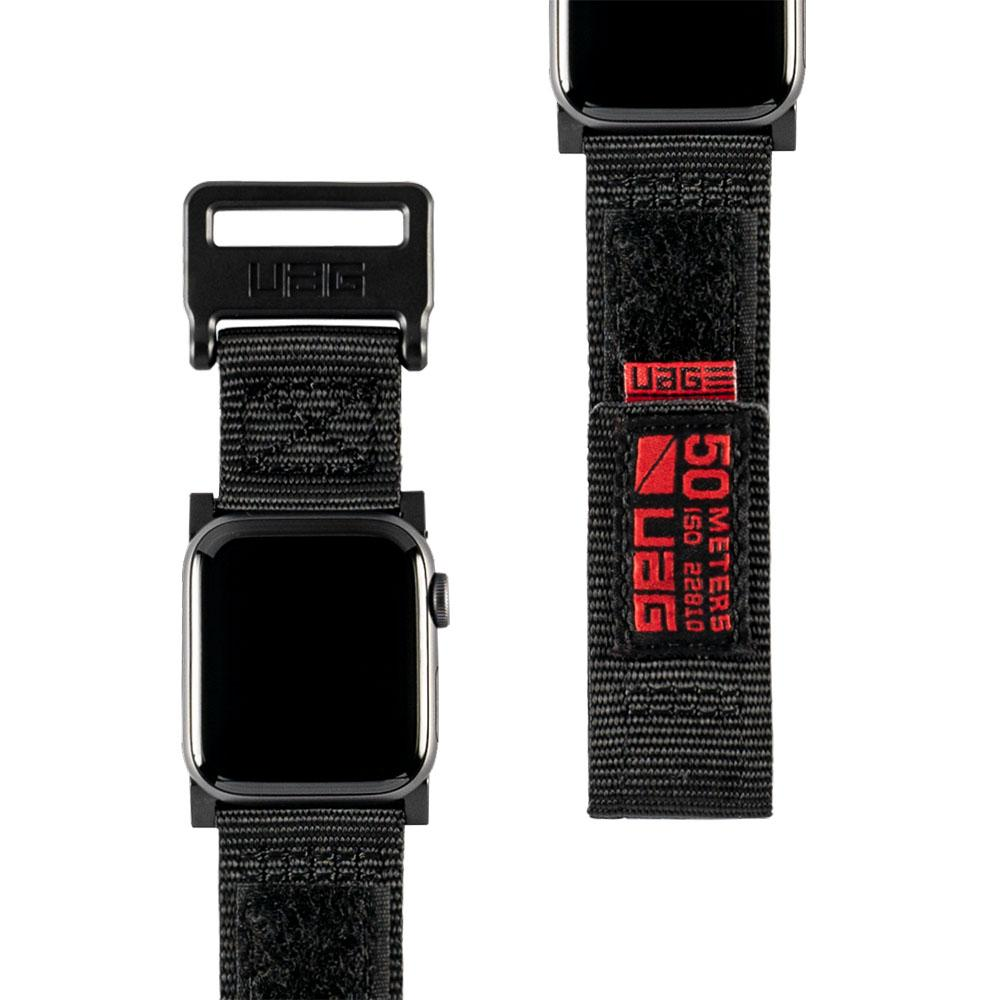 Details About Uag Urban Armor Gear Active Rugged Watch Strap For Le 42 44mm Black